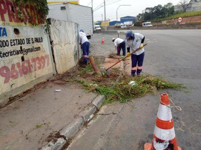 Prefeitura de Guarulhos promove ações de zeladoria nesta sexta
