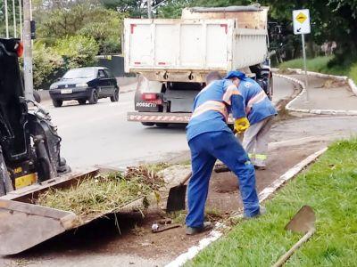 Serviços de Zeladoria são executados por toda a cidade pela Prefeitura