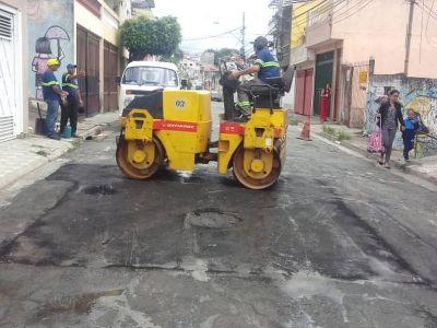 Equipes do tapa-buracos começam dezembro com manutenções em diversas vias