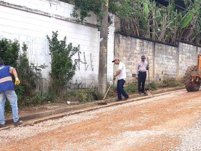 Serviços de zeladoria da Proguaru são executados pela cidade